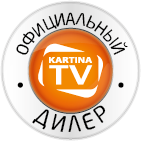 KartinaTV USA (847) 816 1644 Mobile Retina Logo